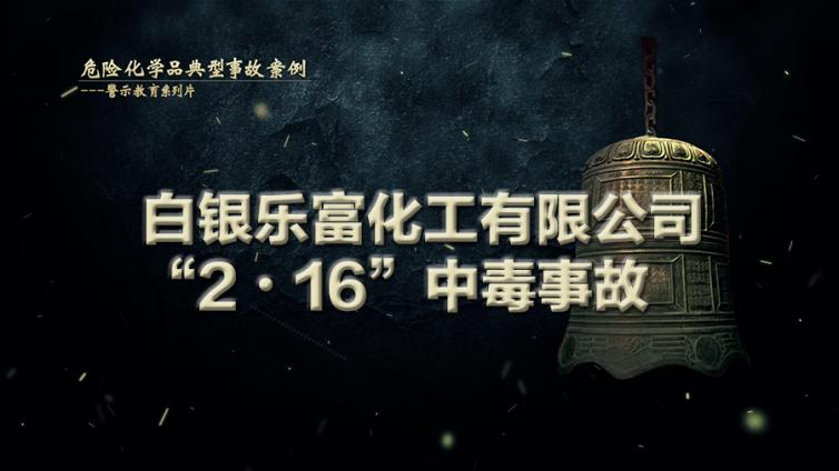"""白银乐富化工有限公司""""2•16""""中毒事故"""