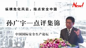 孙广宇司长中国国际安全生产论坛点评集锦